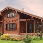 Деревянный дом 134 кв.м.