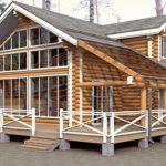 Деревянный дом 149 кв.м