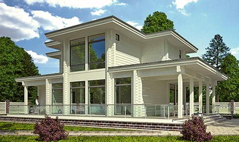 Деревянный дом 157 кв.м