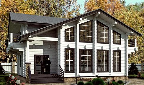 Деревянный дом 172 кв.м