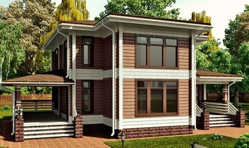 Деревянный дом 195 кв.м