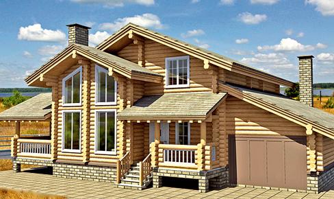 Деревянный дом 200 кв.м