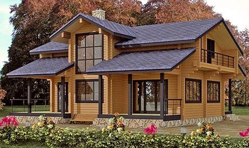 Деревянный дом 220 кв.м