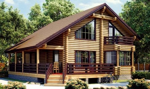 Деревянный дом 231 кв.м