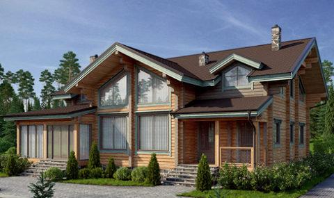 Деревянный дом 276 кв.м