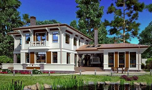 Деревянный дом 325 кв.м.