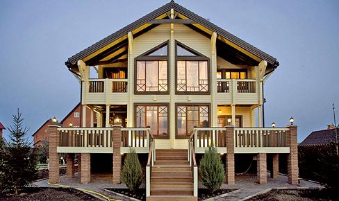 Деревянный дом 433 кв.м