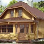 Деревянный дом 70 кв.м,