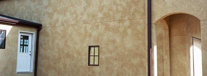 Декоративная штукатурка для фасада
