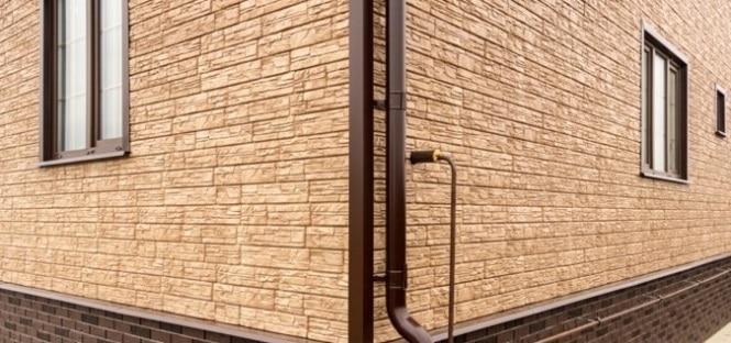 Фасадные панели для деревянного дома