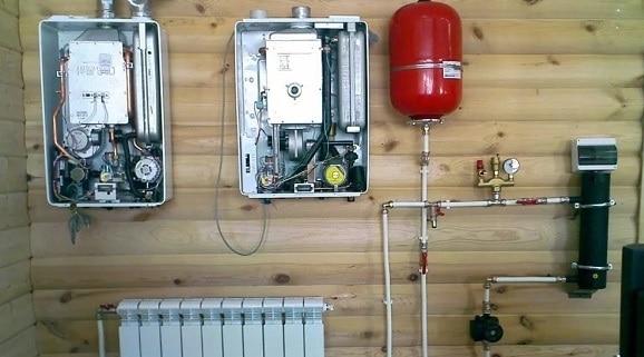 Система отопления в деревянном доме